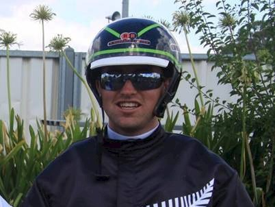 Andre Poutama… former Australasian Junior Drivers' champion.