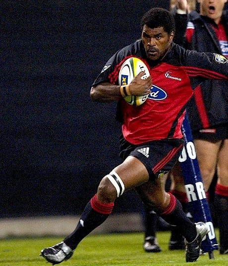 Marika Vunibaka in action for the Crusaders