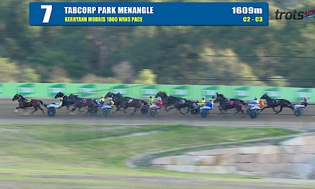 TABCORP PK MENANGLE - 16/04/2019 - Race 7 - KERRYANN MORRIS 1000 WINS PACE