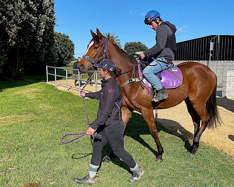 The Belardo - Donaquillo filly who shaded her stablemate at Foxton on Tuesday.